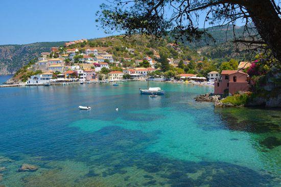 Assos Kefalonia Griekenland